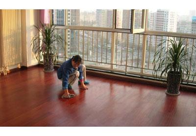 实木地板保洁--长沙好的清洁服务有限公司
